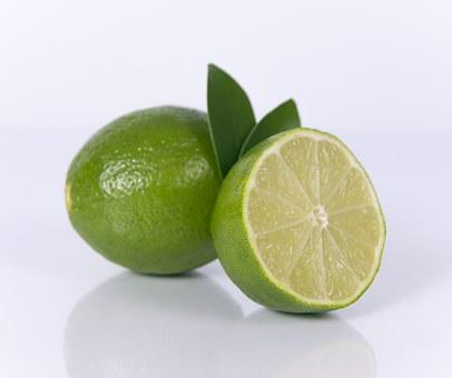 In Scheiben Limette, Obst, Kalk, Scheibe