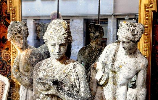 Estátuas, Antiguidade, Pierre