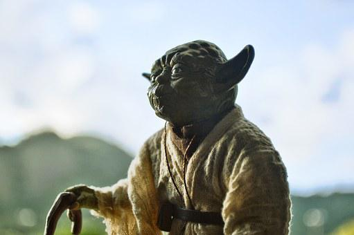 Yoda, Starwars, Actionfigure, Landscape