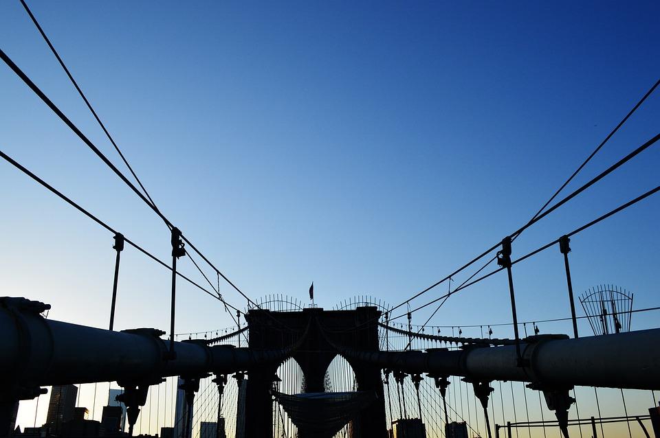 Free Photo: Bridge, Brooklyn, New York