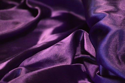 Shiny, Purple, Silk, Royalty