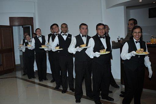 Meseros, Servicio, Camareros