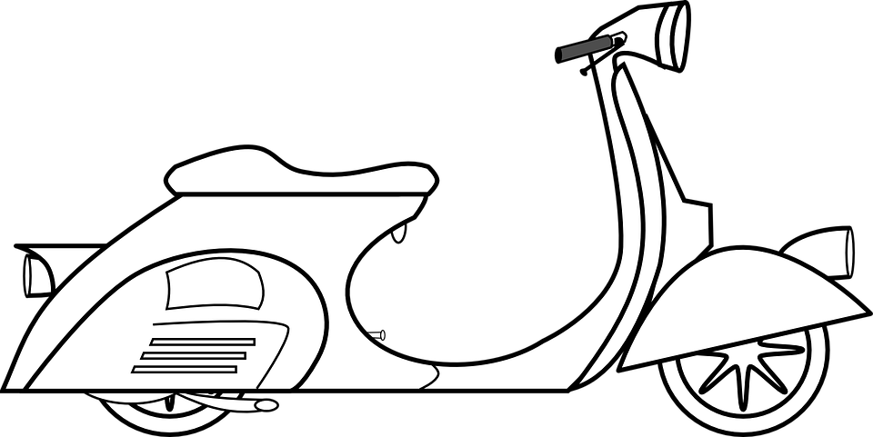 Vespa Scooter Piaggio Bike Motor 668750 on model car designs