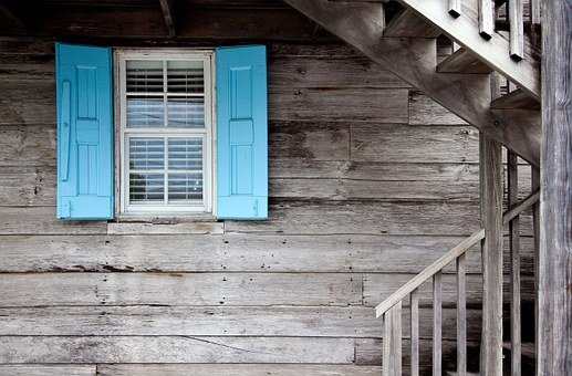 Shutters, Caribbean, Architecture, Door