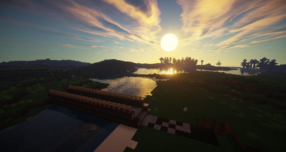 Minecraft Brücke Fluss Kostenloses Bild Auf Pixabay - Minecraft hauser aus holz