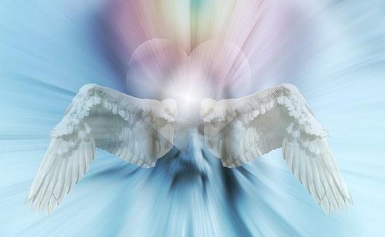 Herz, Engel, Flügel, Liebe, Trauer
