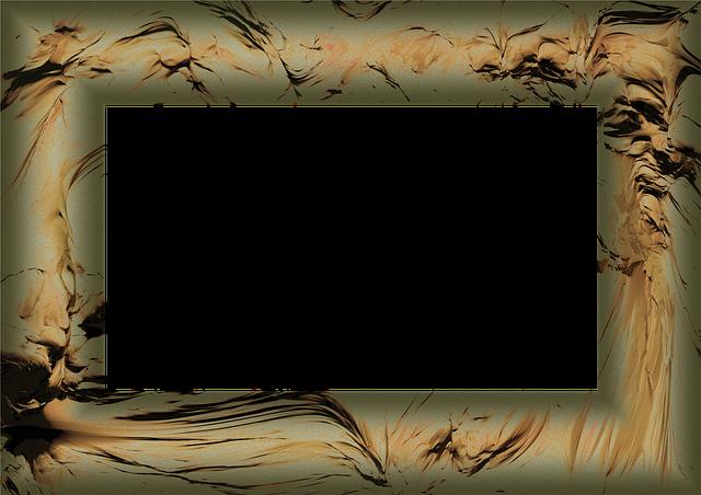 Free Illustration Frame Picture Frame Outline Edge