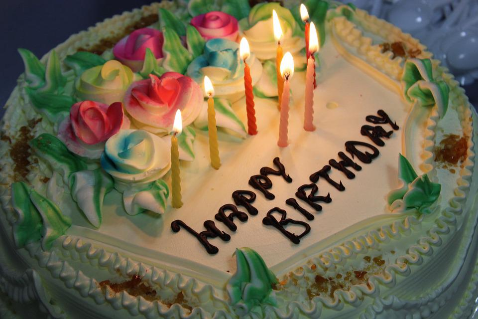 Birthday Cake Candles Free photo on Pixabay