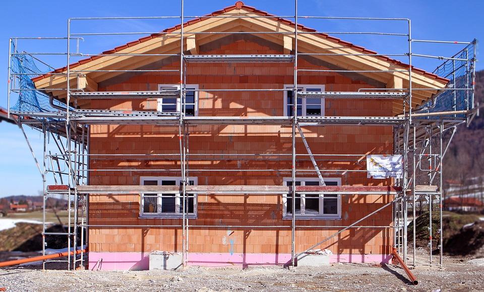 Haus bauen baustelle  Kostenloses Foto: Bauarbeiten, Gerüst, Baustelle - Kostenloses ...