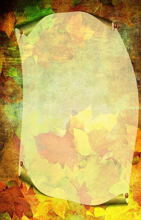 autumn colorful stationery free image on pixabay