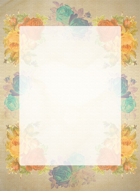 Briefpapier Rosen Retro 183 Kostenloses Bild Auf Pixabay