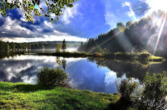 Photo gratuite paysage nature lac arbres eau image for Photo nature hd gratuit