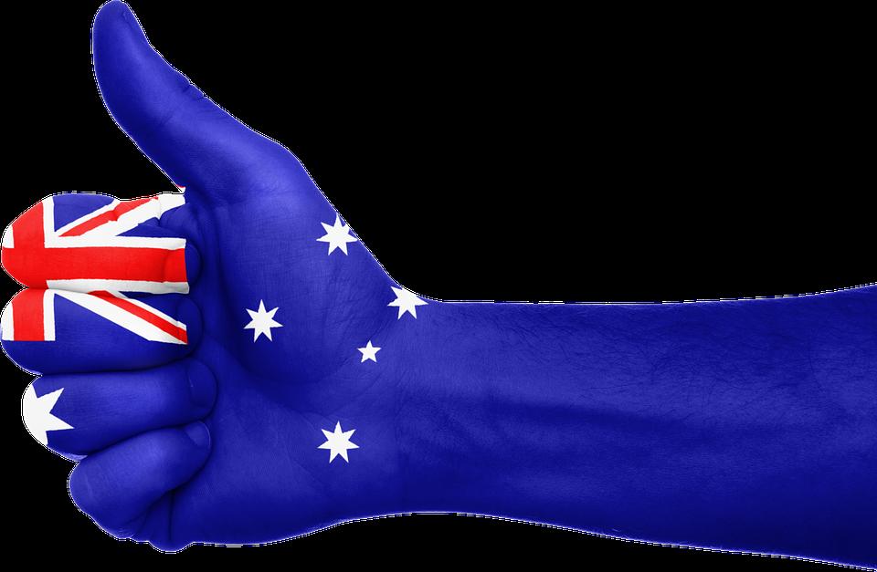 Avustralya Bayrak El Pixabayde ücretsiz Resim