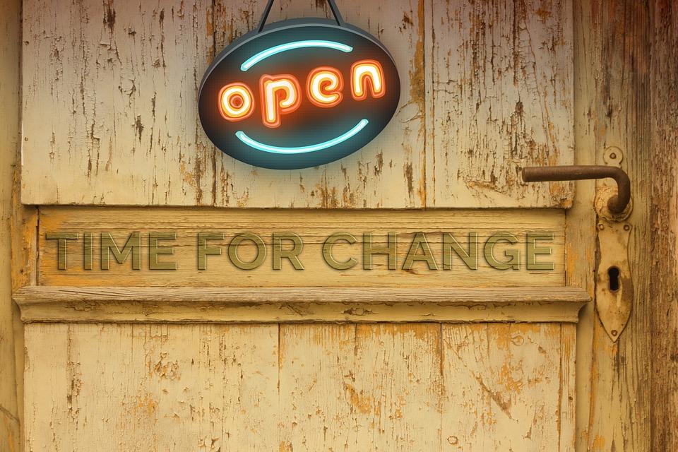 Porta, Cambiamento, Nuovo Inizio, Pensione, Legno