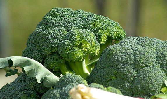 Verduras, Brócoli, Col, Mercado