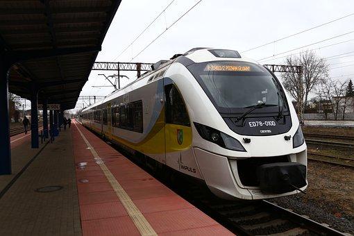 Railway, Electric Locomotive, Pkp Regio