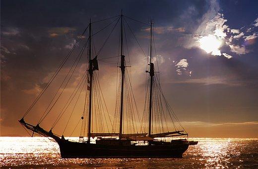 Sea, Lake, Water, Ocean, Ship