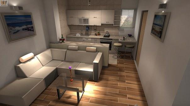 Kitchen, Design, Interior, Home, Modern