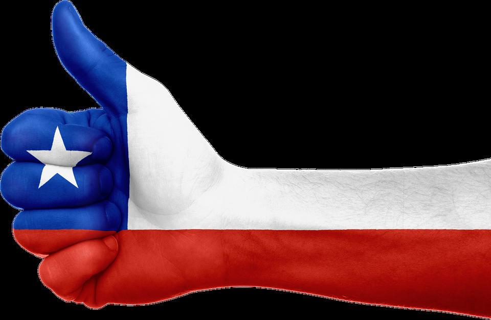 Chile Bandera Mano · Imagen Gratis En Pixabay