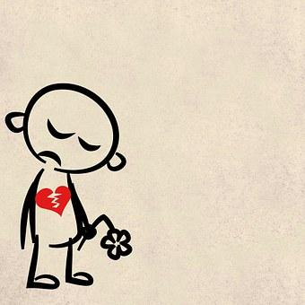悲しい, 失恋, 背景