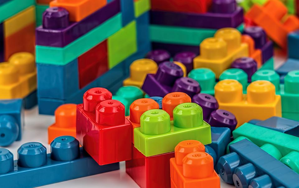 Construction Toys For Preschoolers : Free photo building blocks construction image on