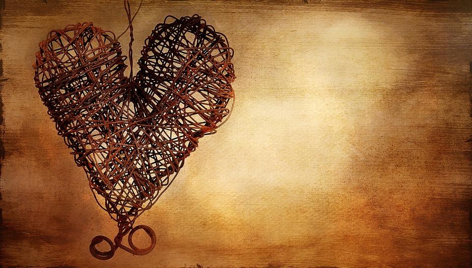 Free Photo Heart Metal Heart Rusty Heart Free Image
