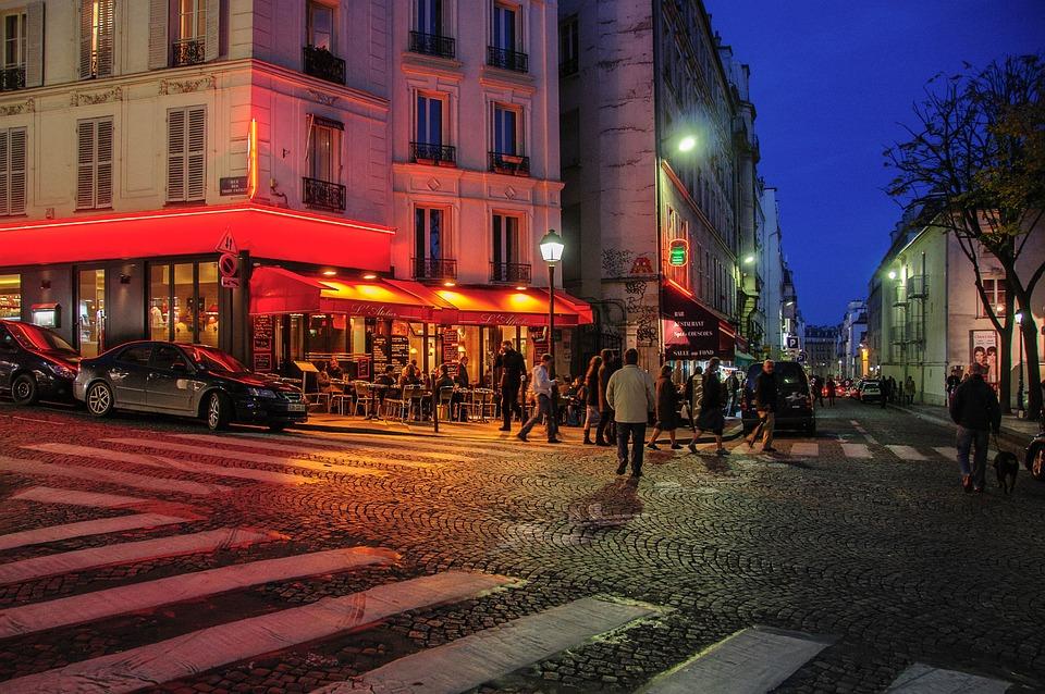 Photo Gratuite Paris Nuit France Montmartre Image