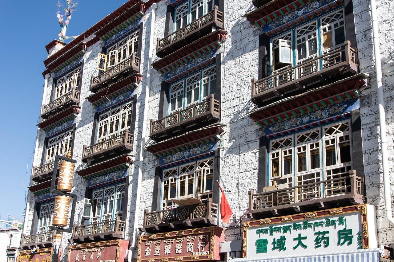 тибетские дома фото время