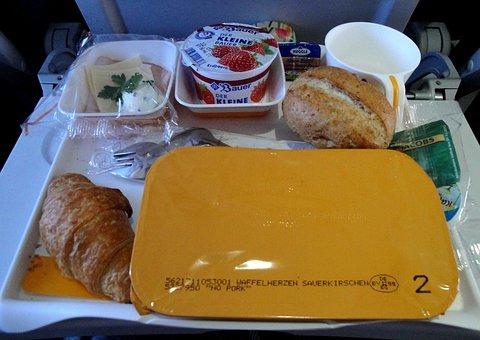 Breakfast, Plane, Food, Lufthansa