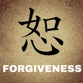 Chinese Characters Background Forgiveness