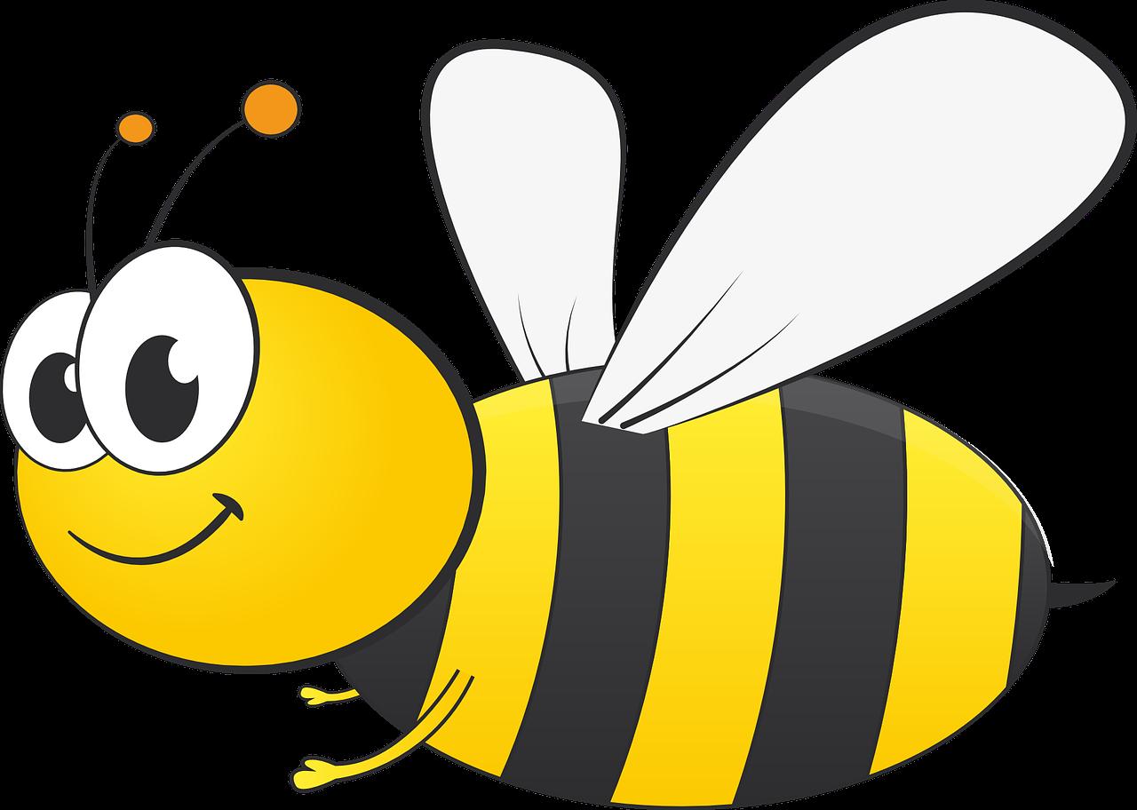 Пчёлки картинки для детей нарисованные