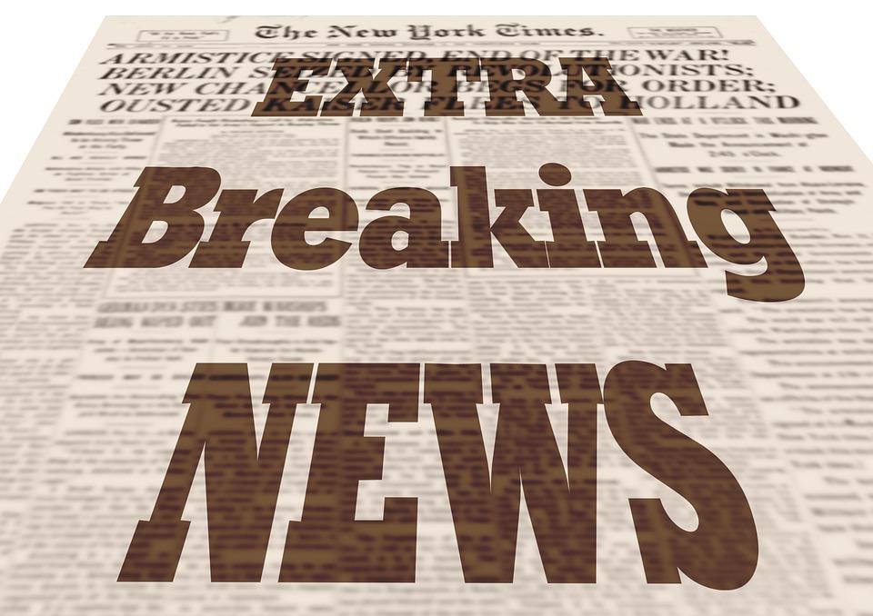 Free illustration: News, Press, Newspaper, Commenced ...