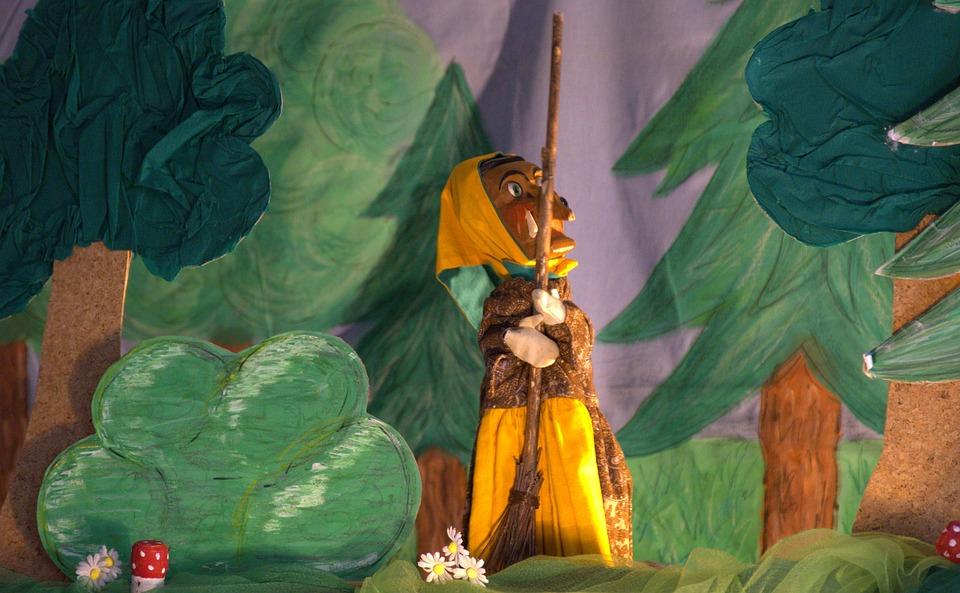 Ведьма, Театр Кукол, Hexenbesen, Кукла