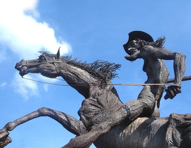 Photo gratuite: Statue De Don Quichotte, Ciel, Cuba - Image ...