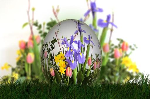 Kytice, Veľká Noc, Vajcia
