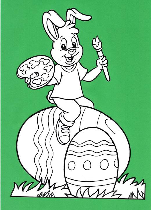 Paskah Easter Iklan Bunny Gambar Gratis Di Pixabay