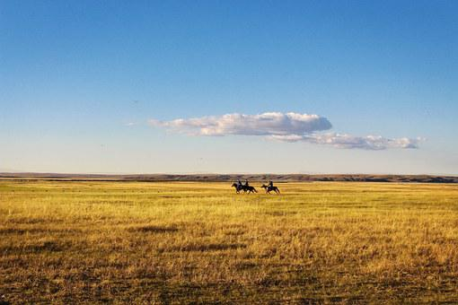 Horseback Riding, Prairie, The Vast
