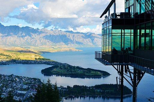 Selandia Baru, Danau, Gunung