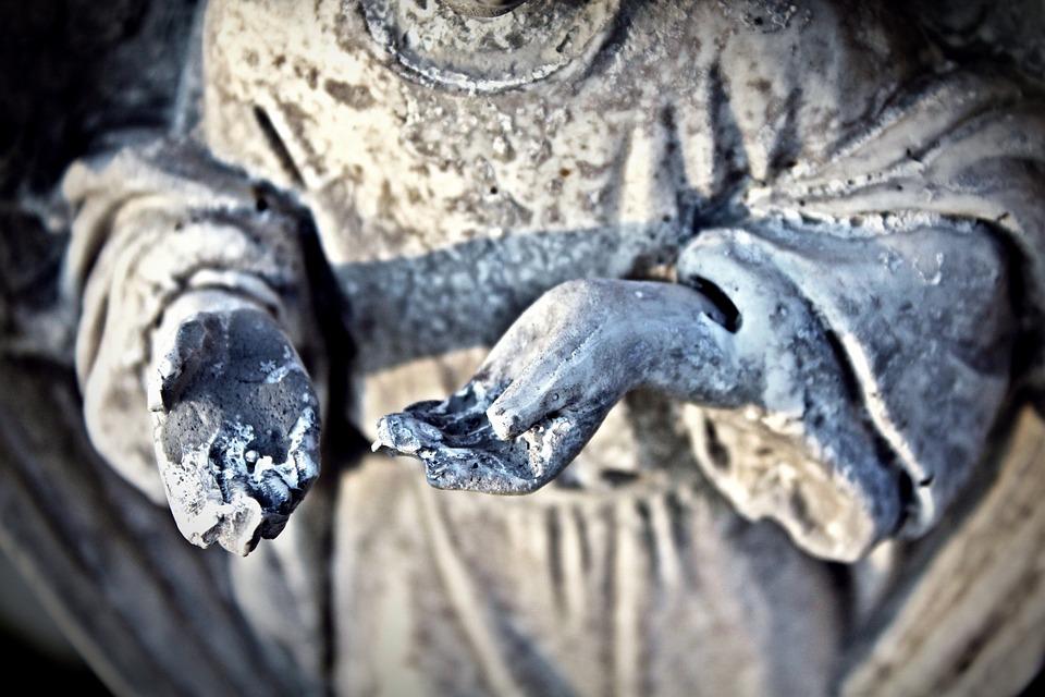 Rzeźba, Ręce, Sztuka, Postać, Kamień, Statua