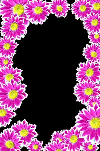 Molduras de primavera para fotos gratis 24