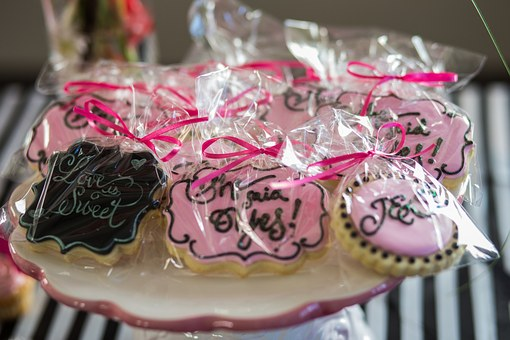 Cookies Wedding Bridal Shower Dessert Swee