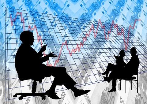 Analysis, Pay, Businessmen, Meeting
