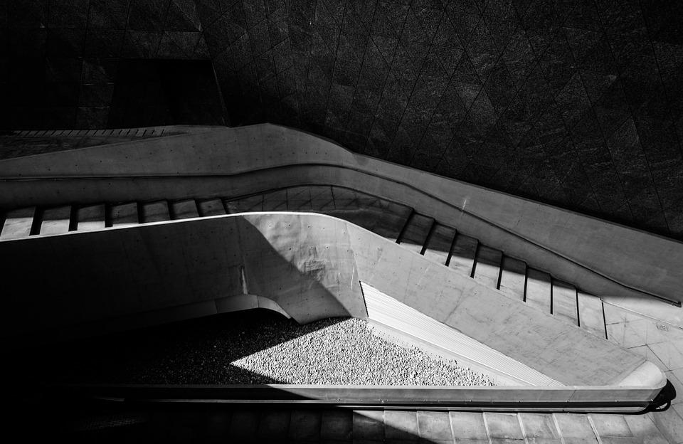 Shadow Gap Staircase Lighting: Stairs Corridor Light And Shadow