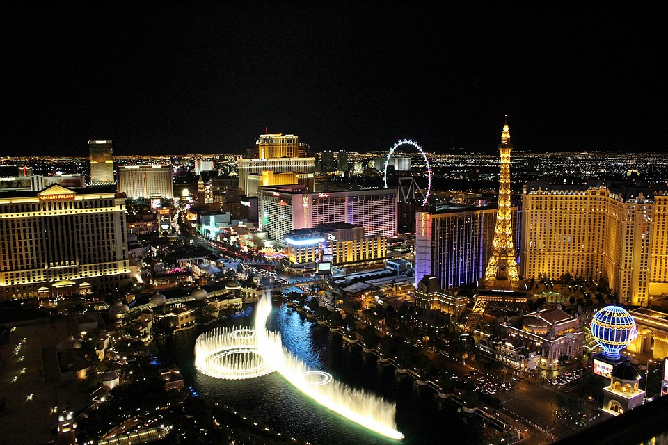Las Vegas, Gambling, Игри, City, Night View, Gorgeous