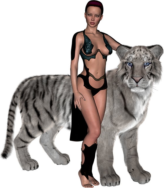 white tiger warrior