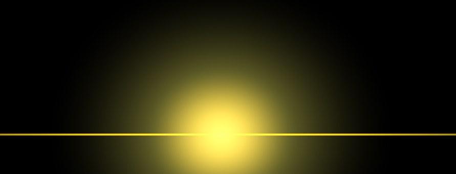 Light, Bokeh, Yellow, Red