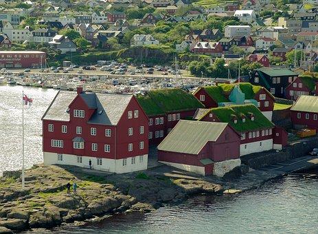 Færøerne, Torshavn, Havn, Både