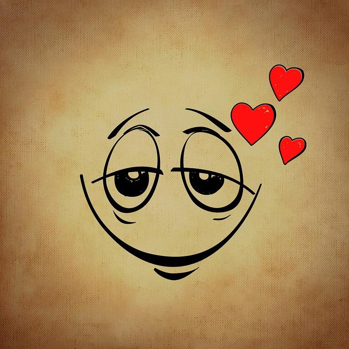 Smiley Emoticone L Amour Image Gratuite Sur Pixabay