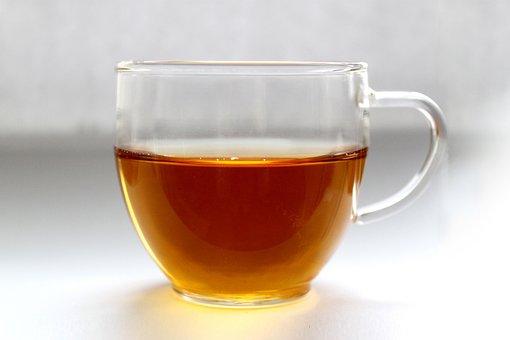 カップ, 茶, 静物画