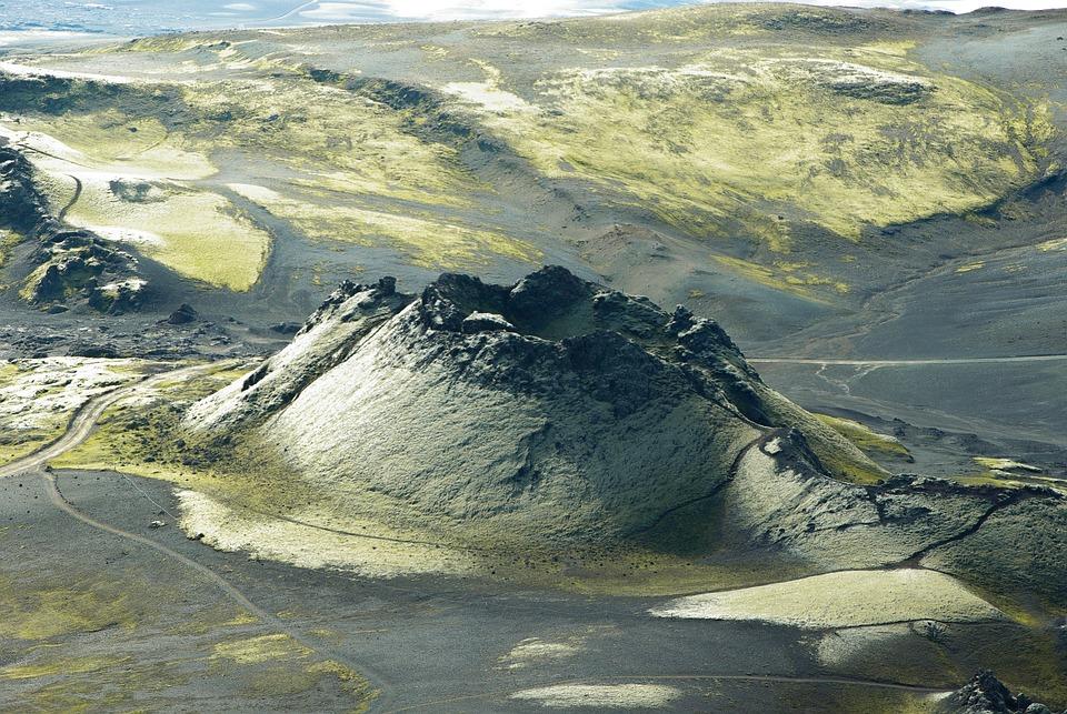 Izland Laki Vulkán - Ingyenes fotó a Pixabay-en